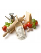 mąka typu 00, oliwa z oliwek extra vergine, pomidory pelati i polpa po